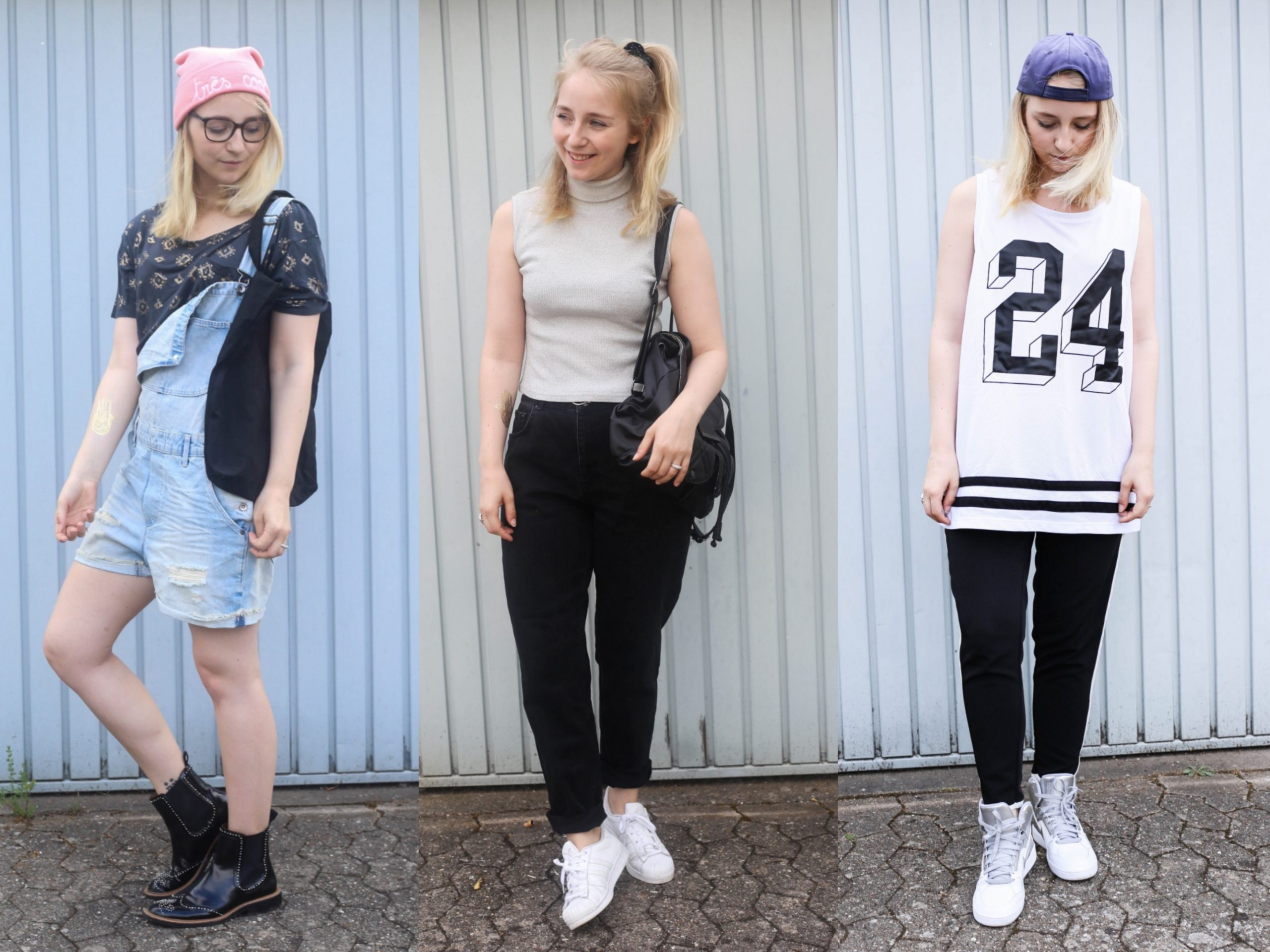 9 party styles: hipster, 9s, hip hop outfit 90er jahre outfit damen
