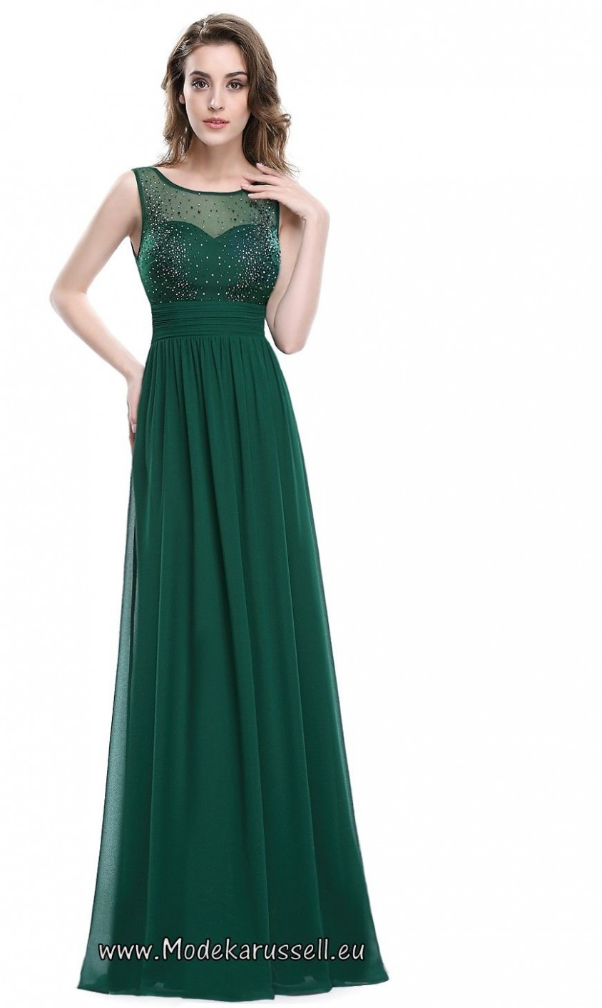 a linie abendkleid tabitha grün evening dresses, chiffon evening abendkleid grün
