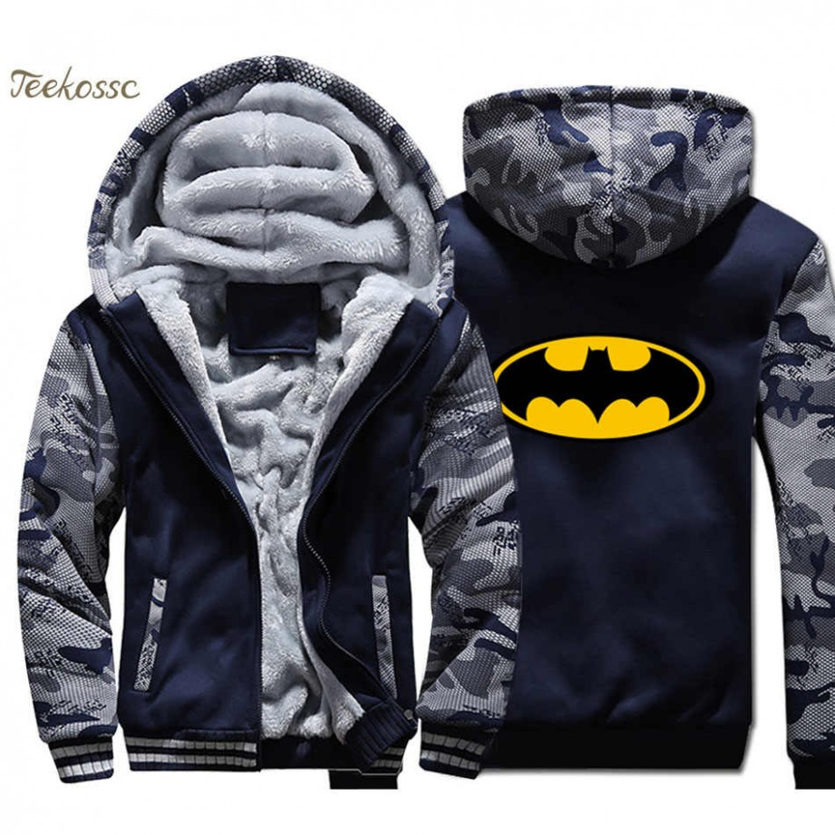 Batman Hoodie Männer Super Hero Mit Kapuze Sweatshirt Mantel 8