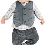 Bekleidung Longra Baby Jungen Gentry Kleidung Set Formal Party Taufe Outfit Junge