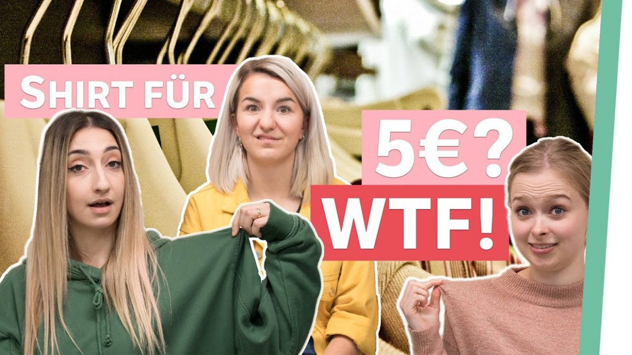 Billige Klamotten - REALTALK über Fair Fashion  Auf Klo