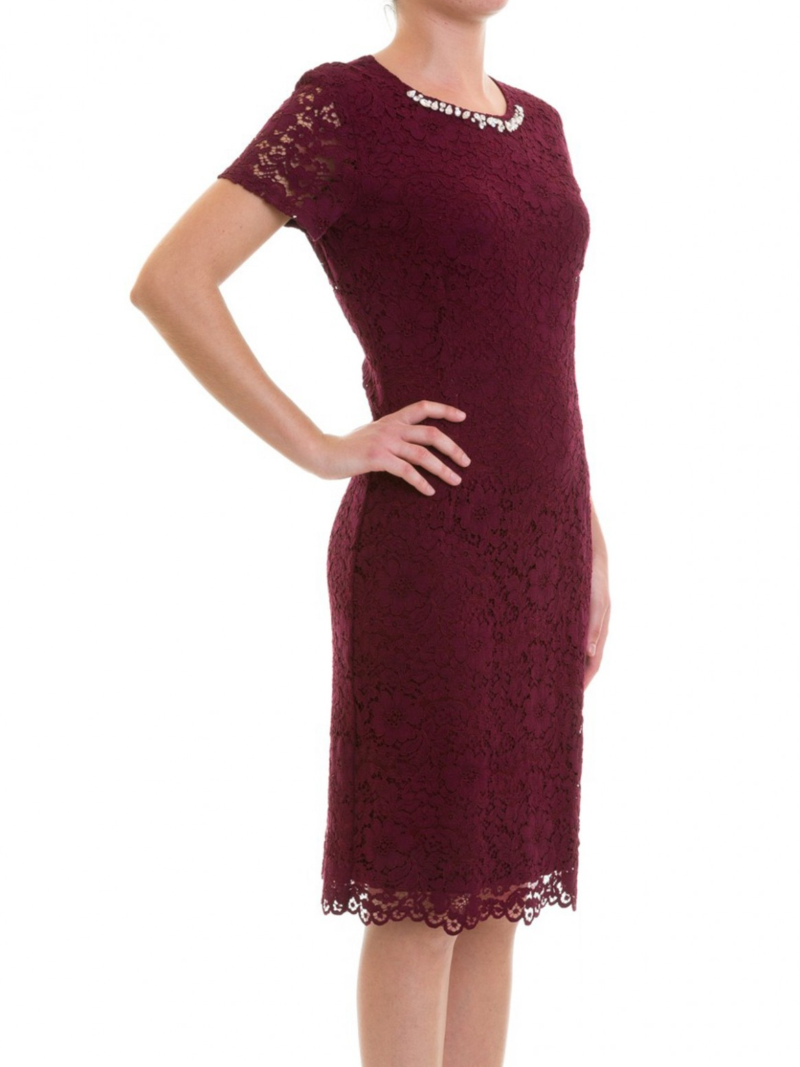 blugirl cocktailkleid bordeaux cocktailkleider 10 cocktailkleid bordeaux