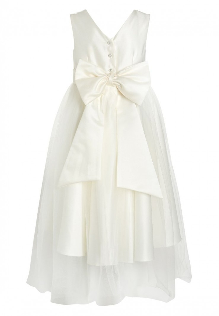 bridesmaid cocktailkleid/festliches kleid cream zalando kinderkleider
