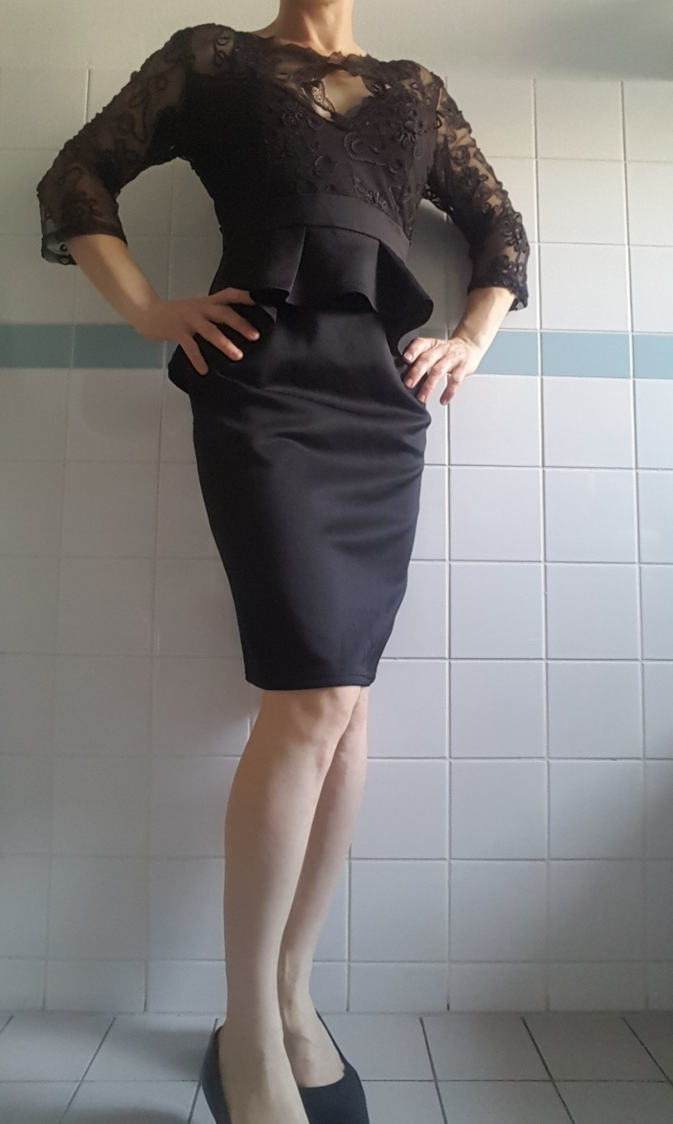 business elegantes kleid m