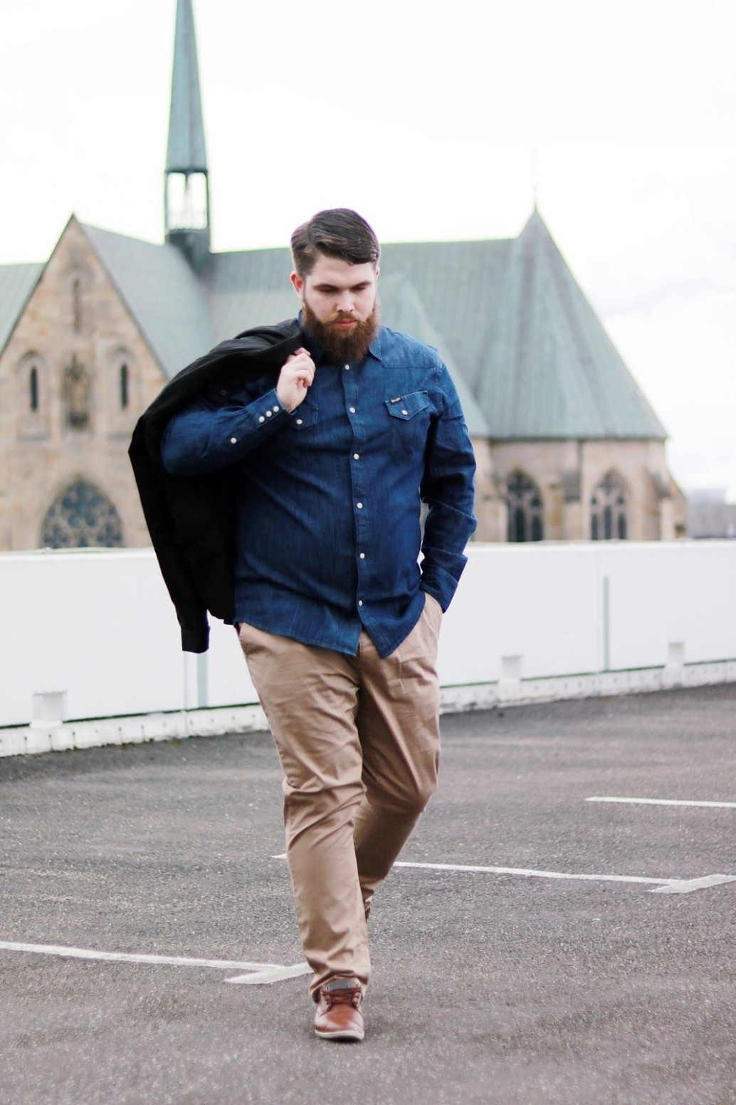 captain thickbeard male plus size fashion blog // follow me on mode für dicke männer