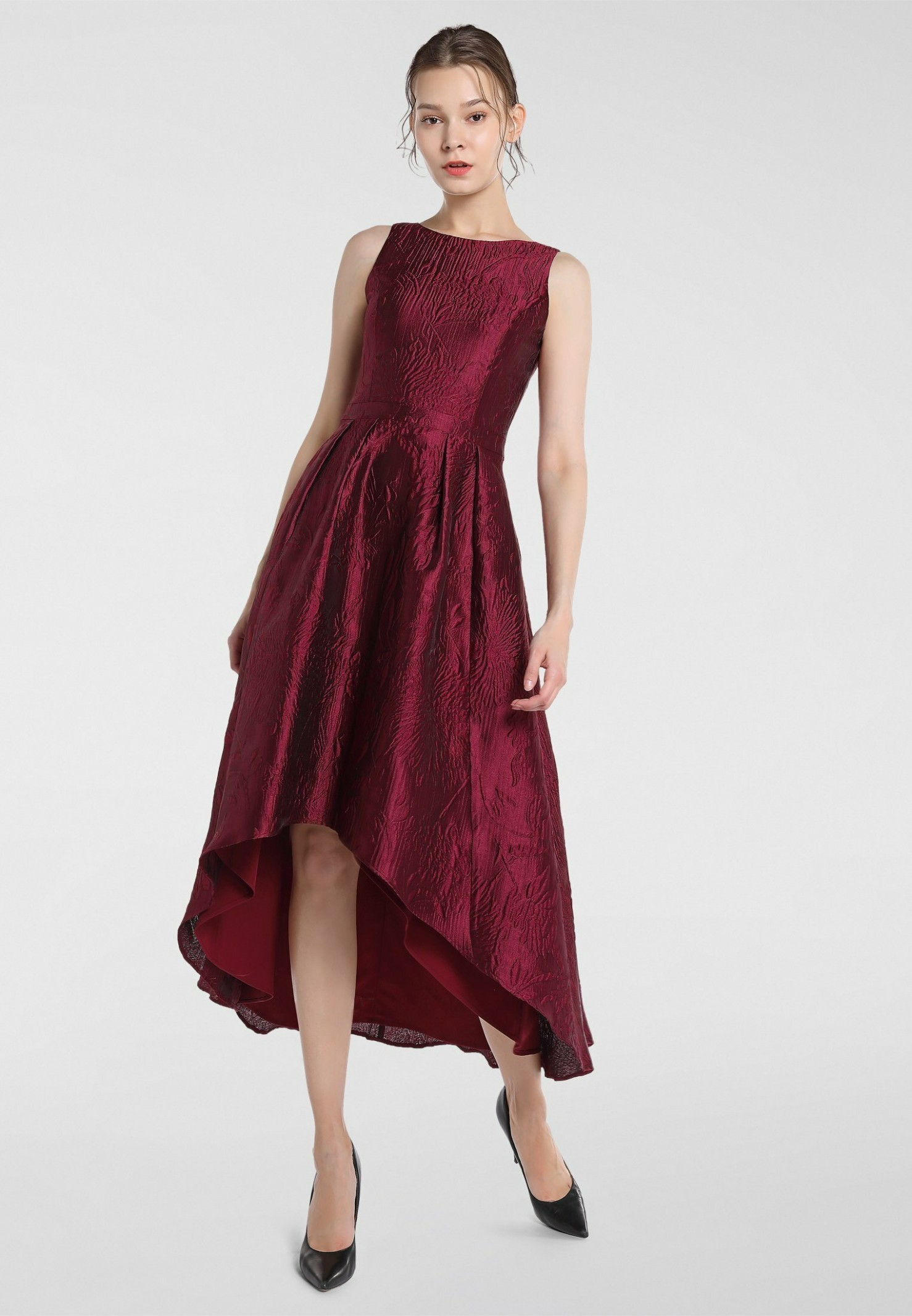 cocktailkleid/festliches kleid bordeaux cocktailkleid bordeaux