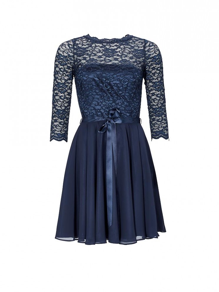 cocktailkleid swing cocktailkleid blau