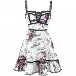 Floral Music Dress Kurzes Kleid Von Full Volume By Emp <12 Ausgefallene Kleidung Online