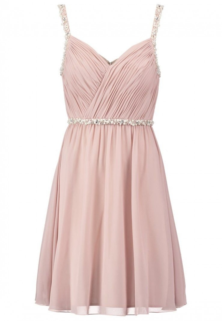 laona cocktailkleid / festliches kleid cream pink zalando