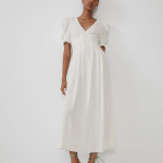 Loose Fitting Textured Dress View All Dresses Woman Zara Weißes Kleid Damen