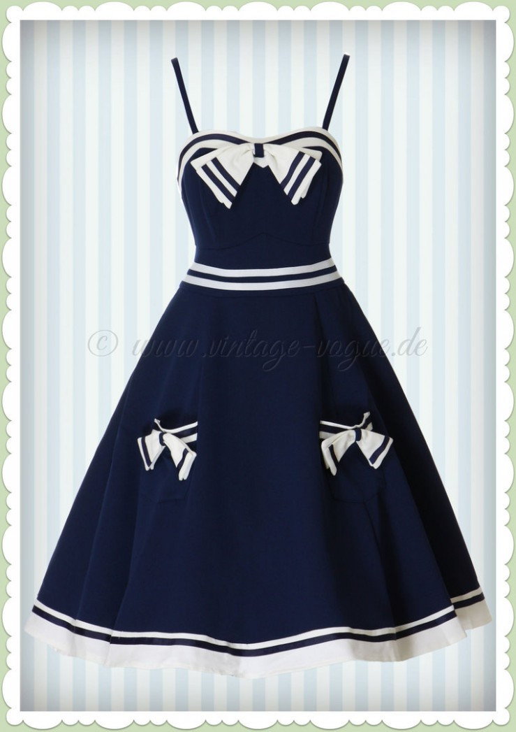 ♥ maritime ahoi sailor kleider ♥ www different dressed
