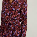 Mary Belted Print Dress Custommade Kleid