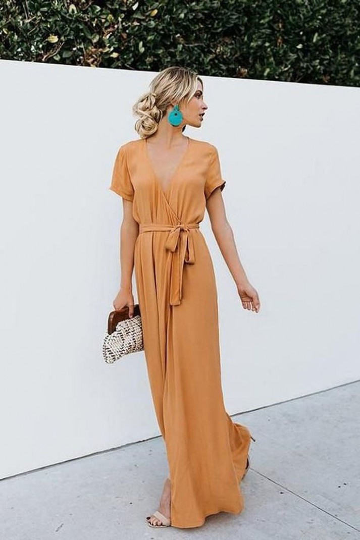 Maxi Wrap Dress, Wrap Dresses, Long Dress, Maxi Summer Dress, Wrap