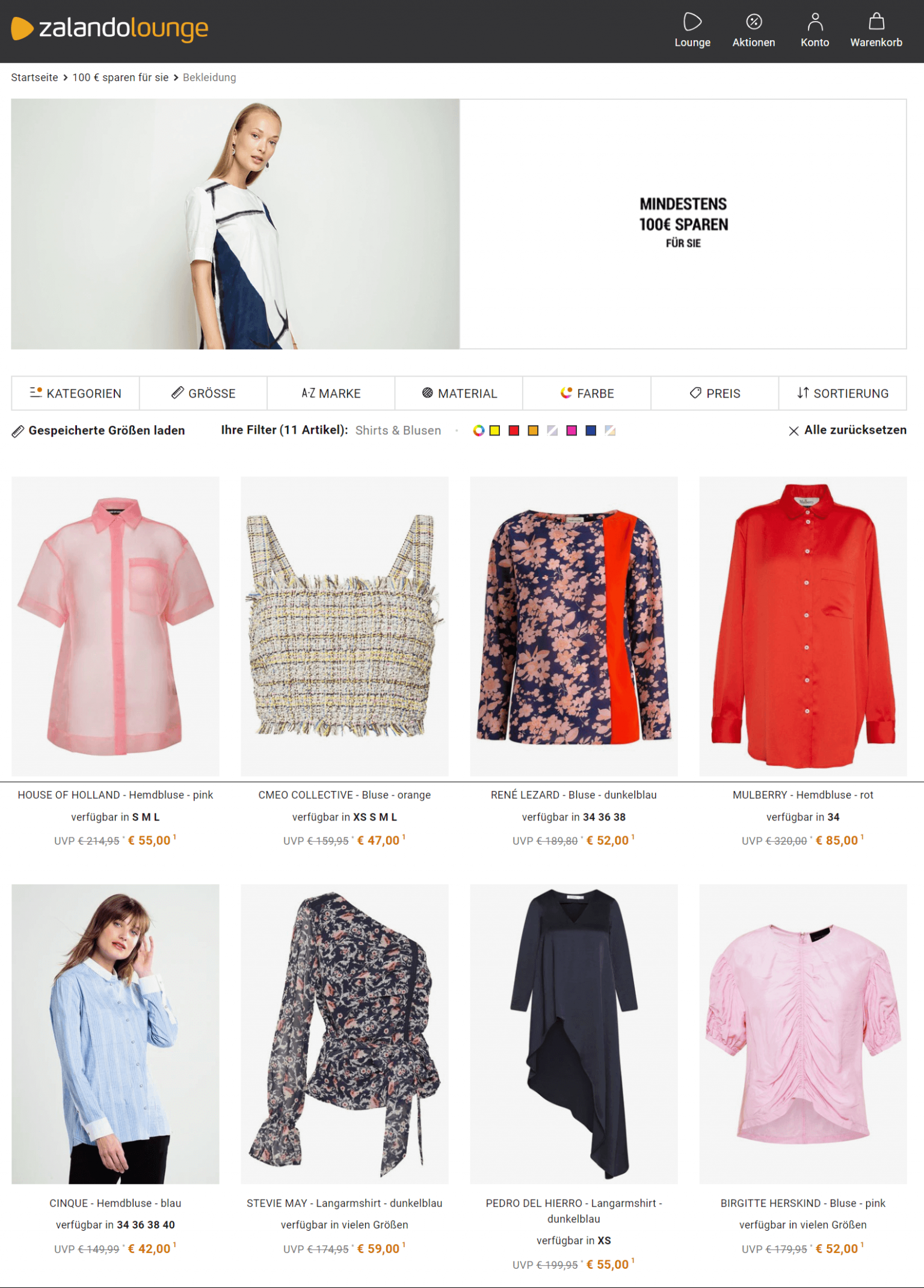 mode online shop: spare bis zu 9 % zalando lounge at mode online bestellen
