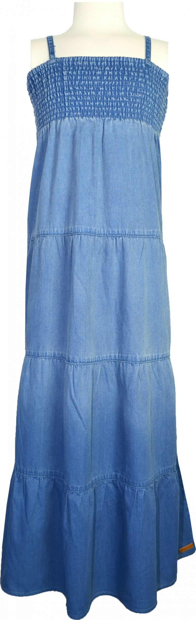 name it Jeans Dress BECCY Kids medium blue denim 10