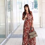 Outfit: Maxikleid Mit Blumen Und Gucci Dionysus Bag Outfit Mint And Berry Kleid