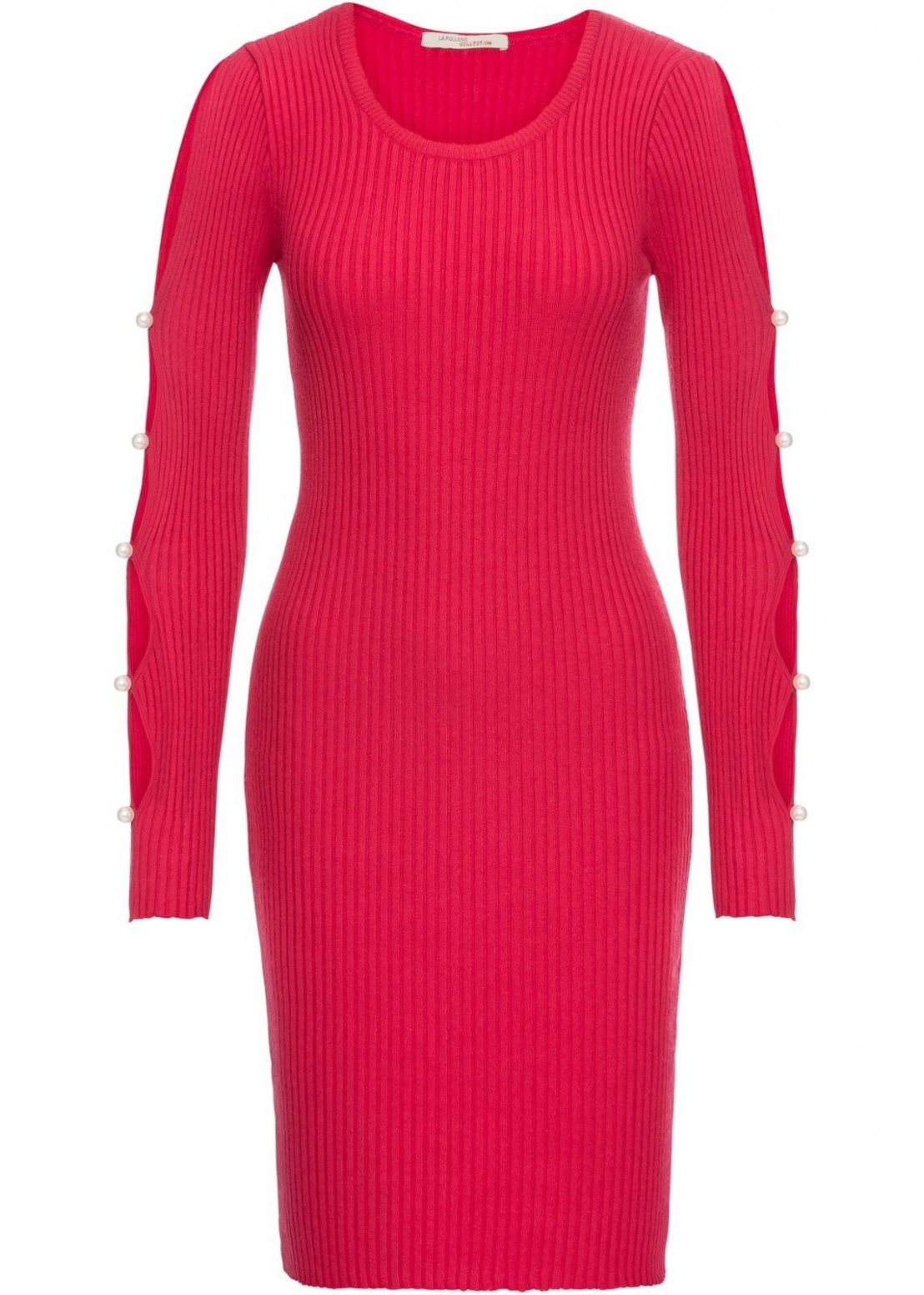 pin on rotes kleid rotes kleid langarm