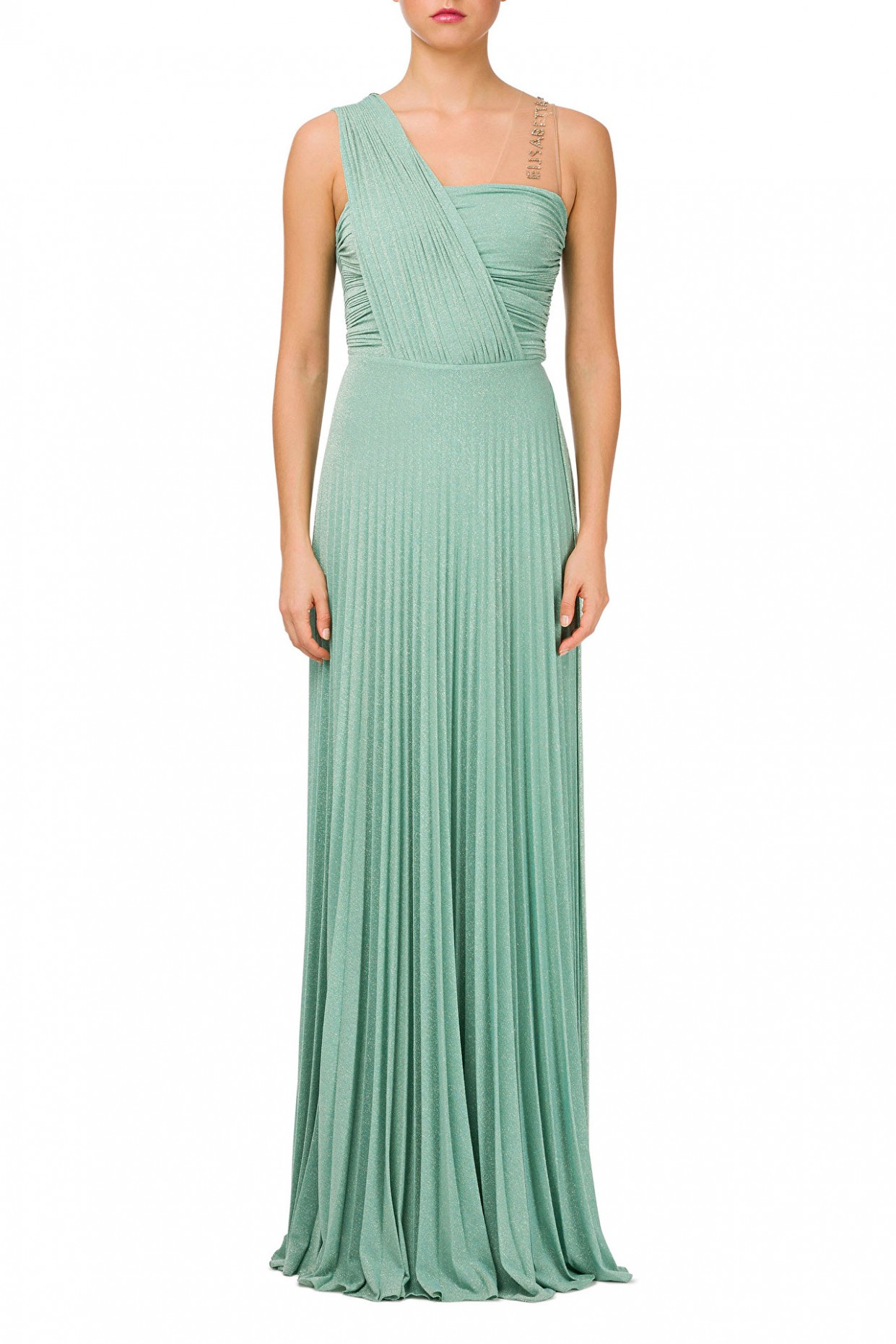 pleated dress elisabetta franchi kleid