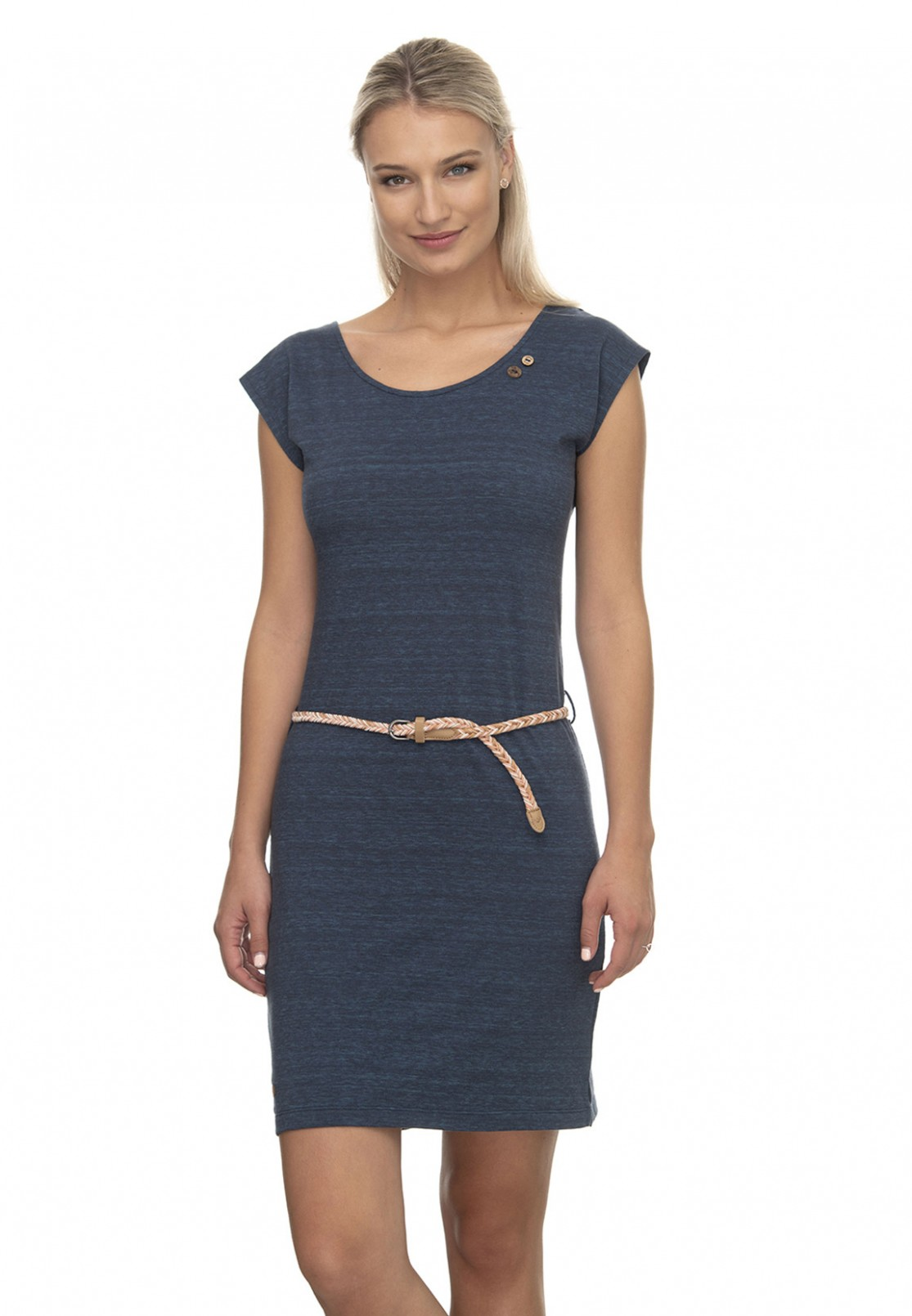 ragwear kleid damen sofia dress 12 12 dunkelblau navy 12 fashioncode