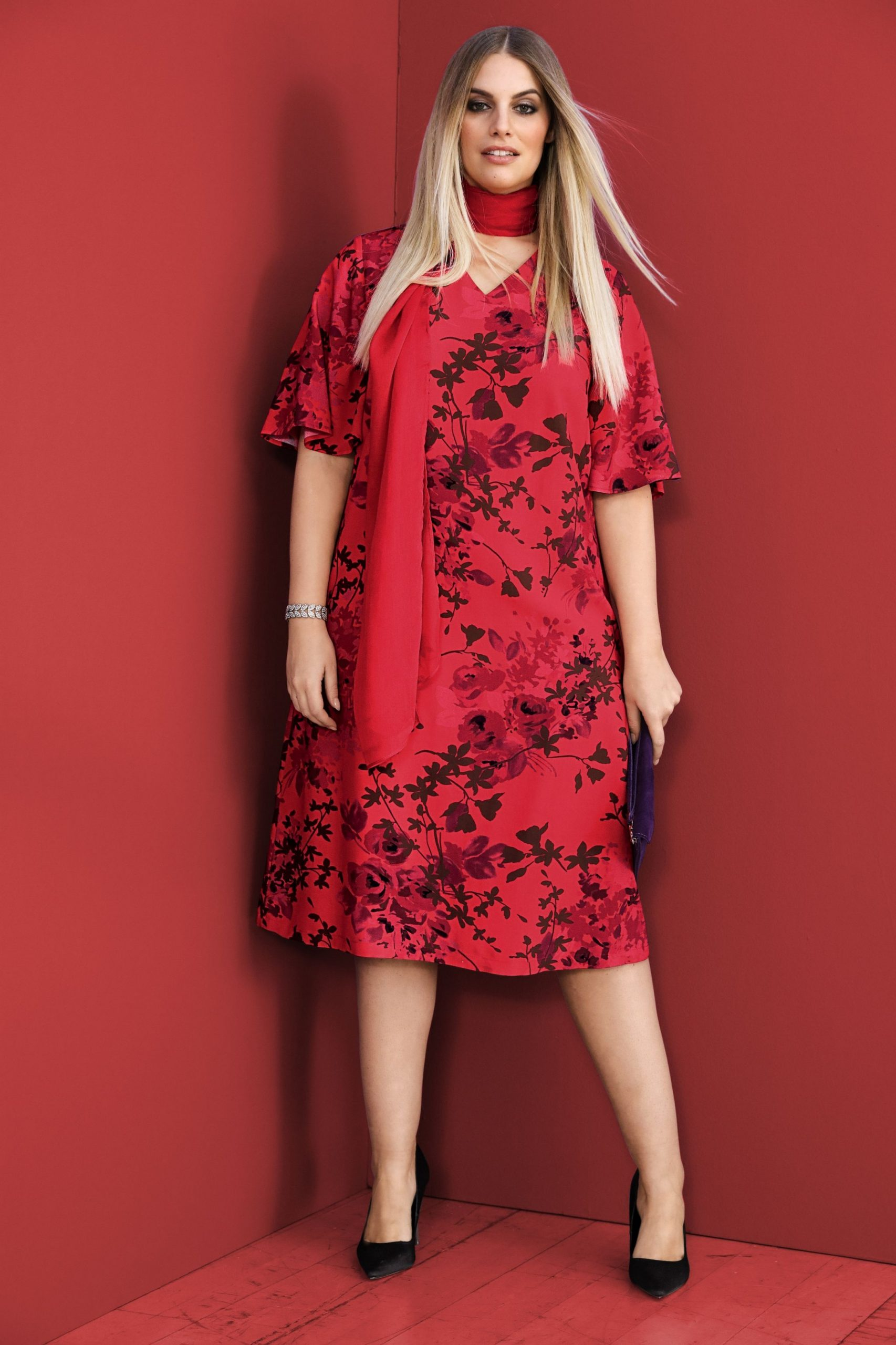 red hot floral