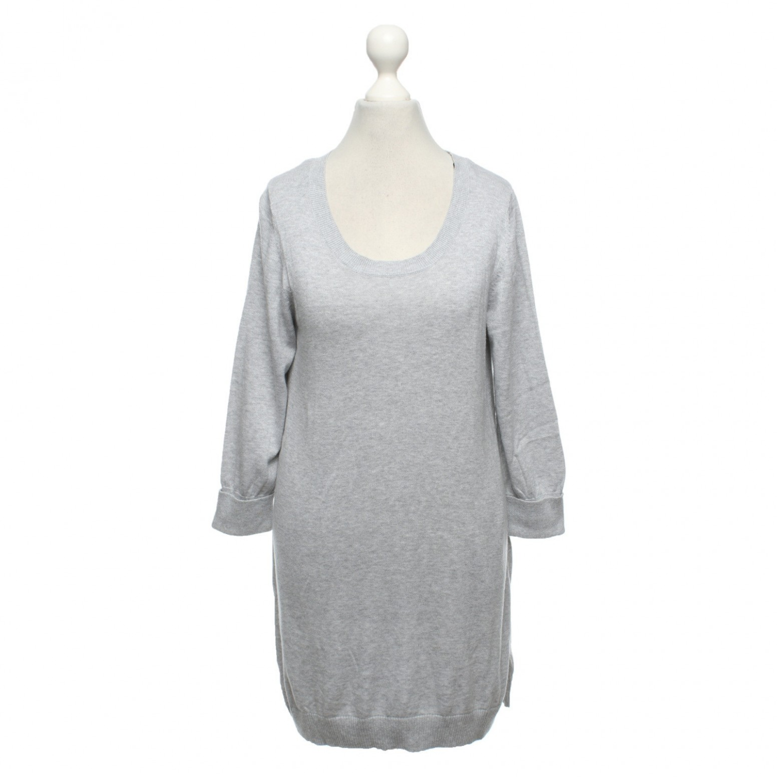 repeat cashmere dress in grey second hand repeat cashmere dress cashmere kleid