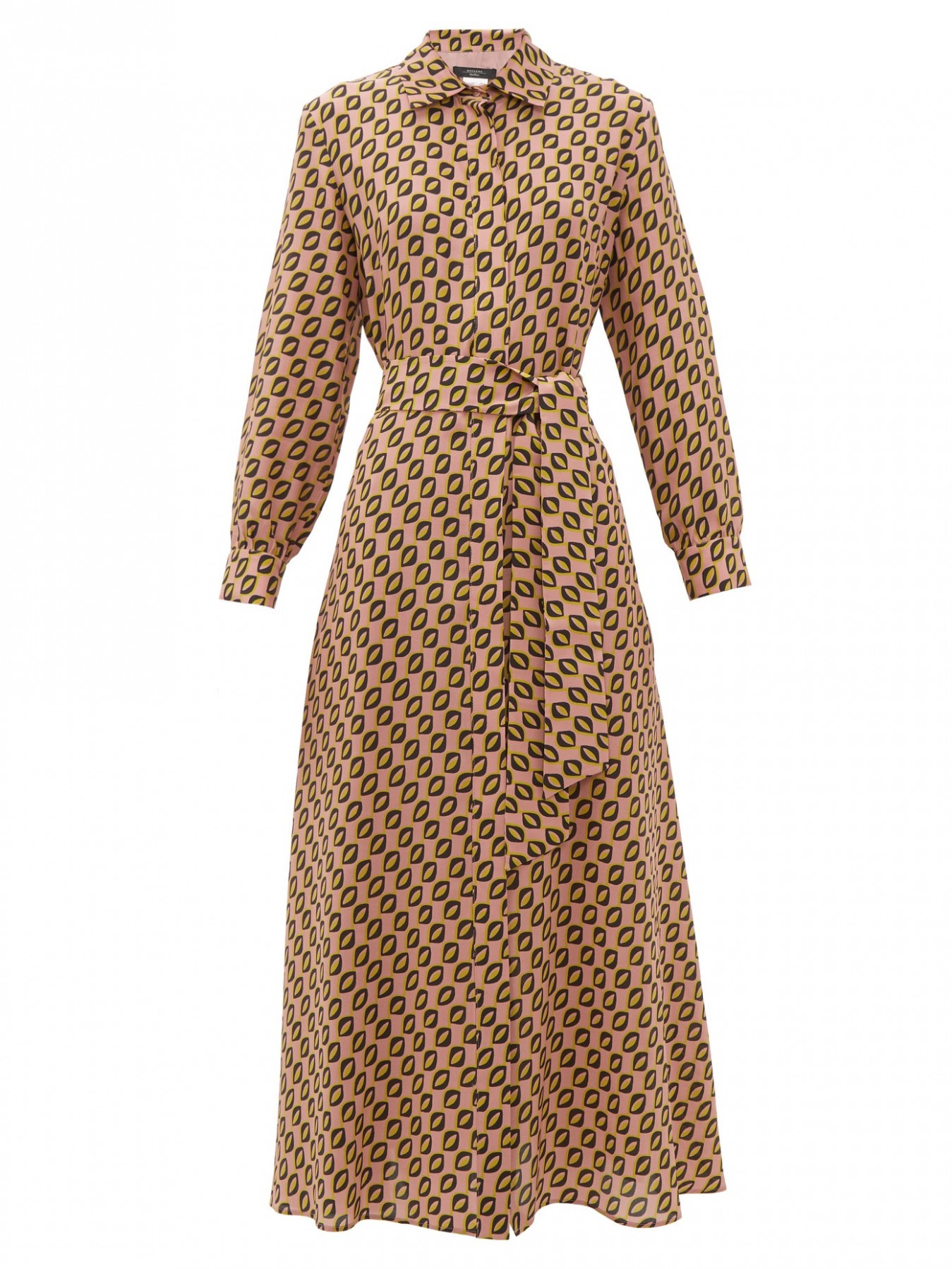 samantha shirtdress weekend max mara matchesfashion uk max mara weekend kleid