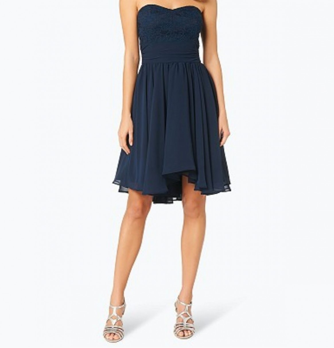SWING Cocktailkleid blau 12/12 in 12 Bergkirchen for €12.12 for