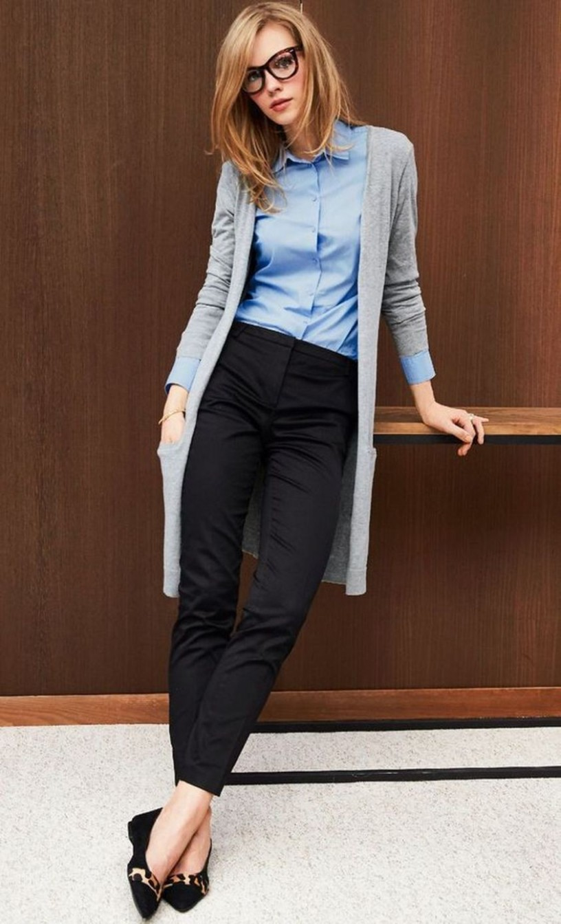 Totally Inspiring Womens Cardigan Outfits Ideas For This Spring11 Business Outfit Frau
