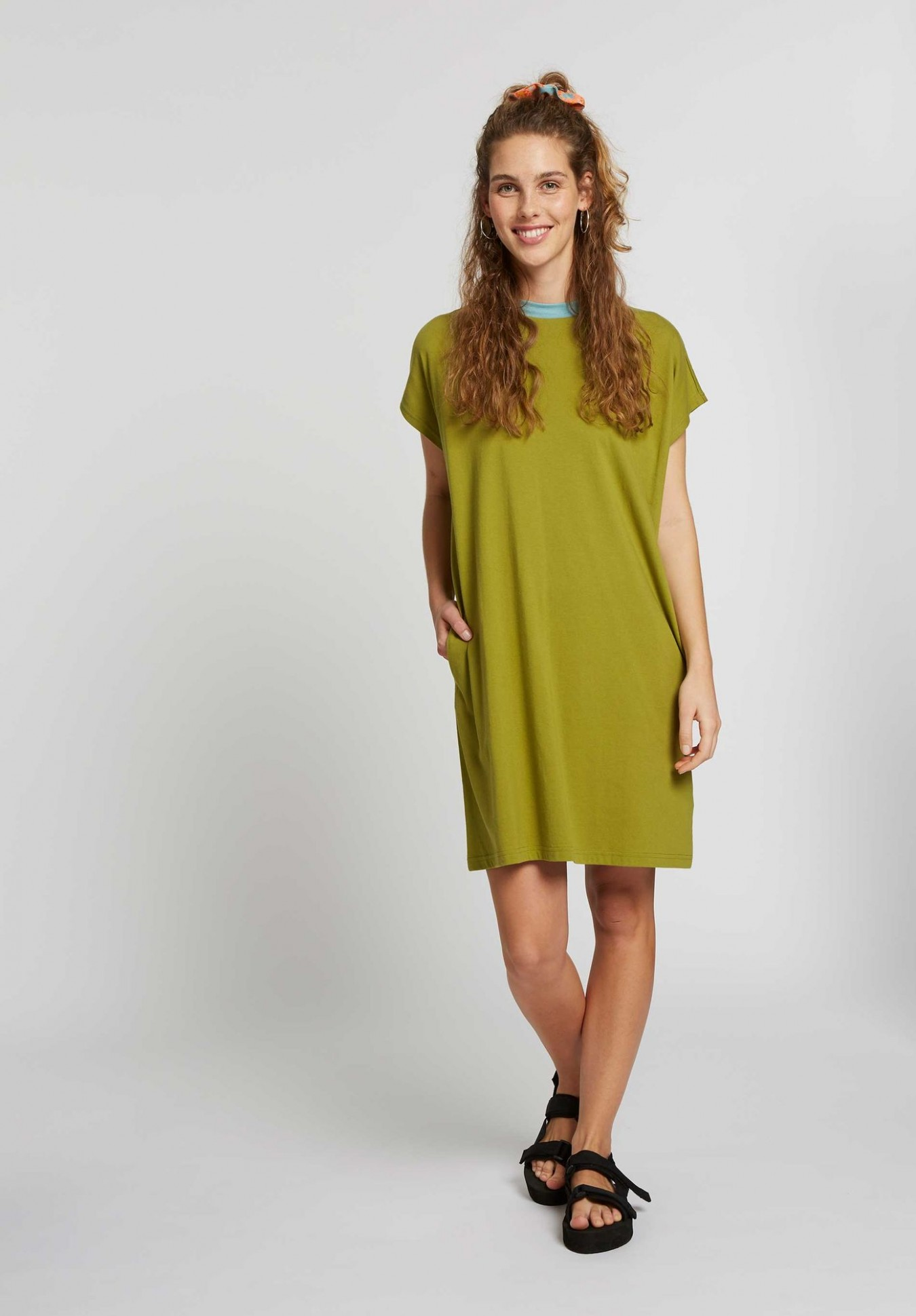 TT10 Boxy Shirt Dress