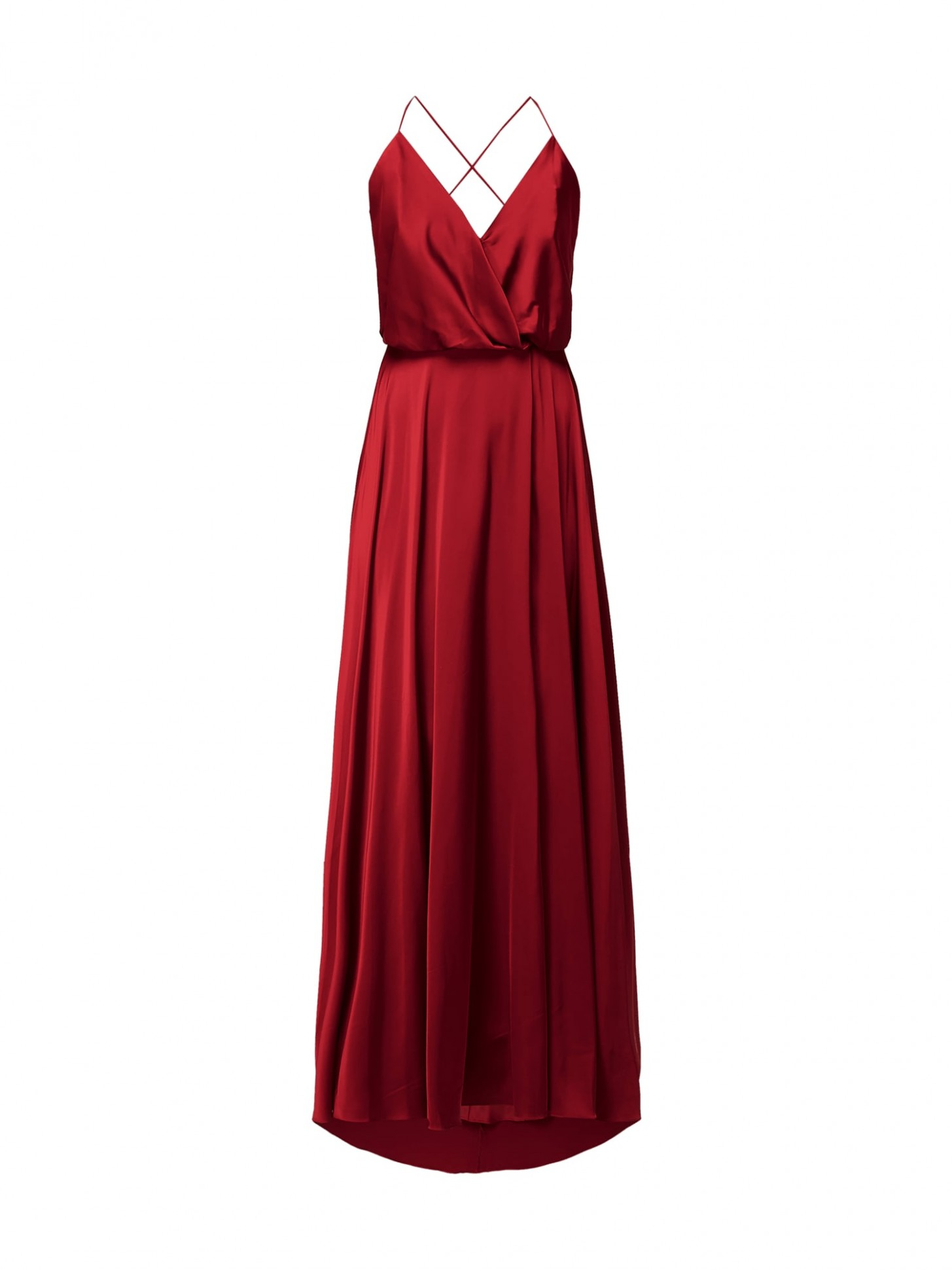 unique abendkleid aus satin in rot online kaufen (12) ▷ p&c online shop unique kleider