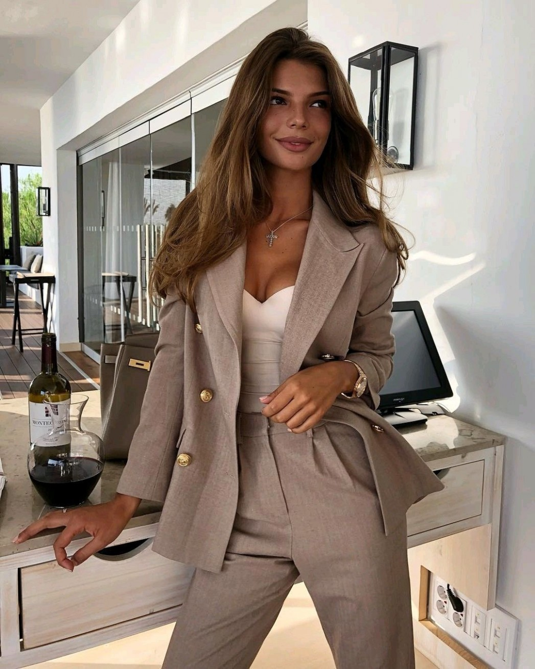 Workwear Women's Office Looks Classy Trendy Outfits, Classy Business Outfit Frau