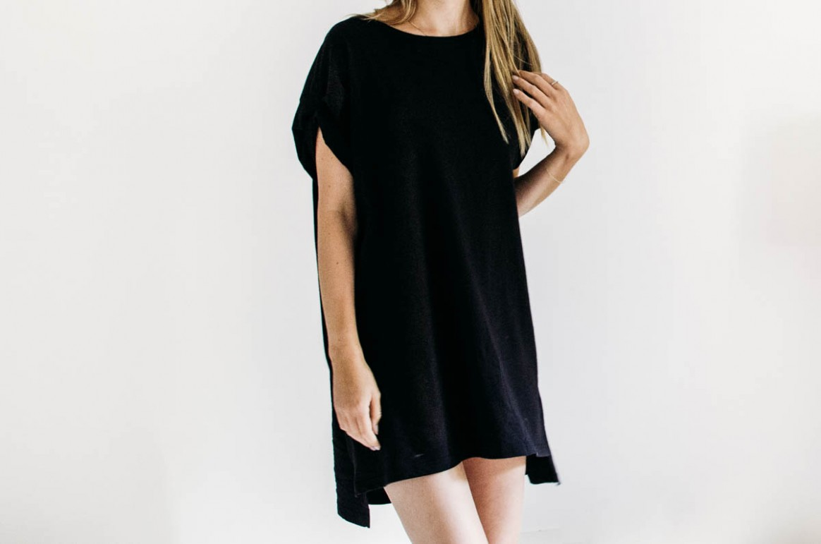 World´s easiest DIY: T-shirt-Kleid für den Sommer  livera