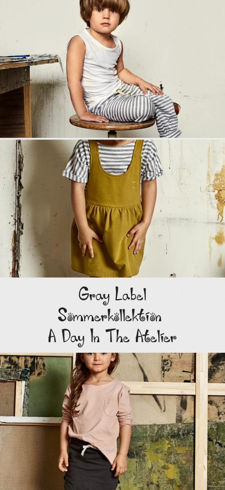 gray label sommerkollektion – a day in the atelier fashion in gots kleidung