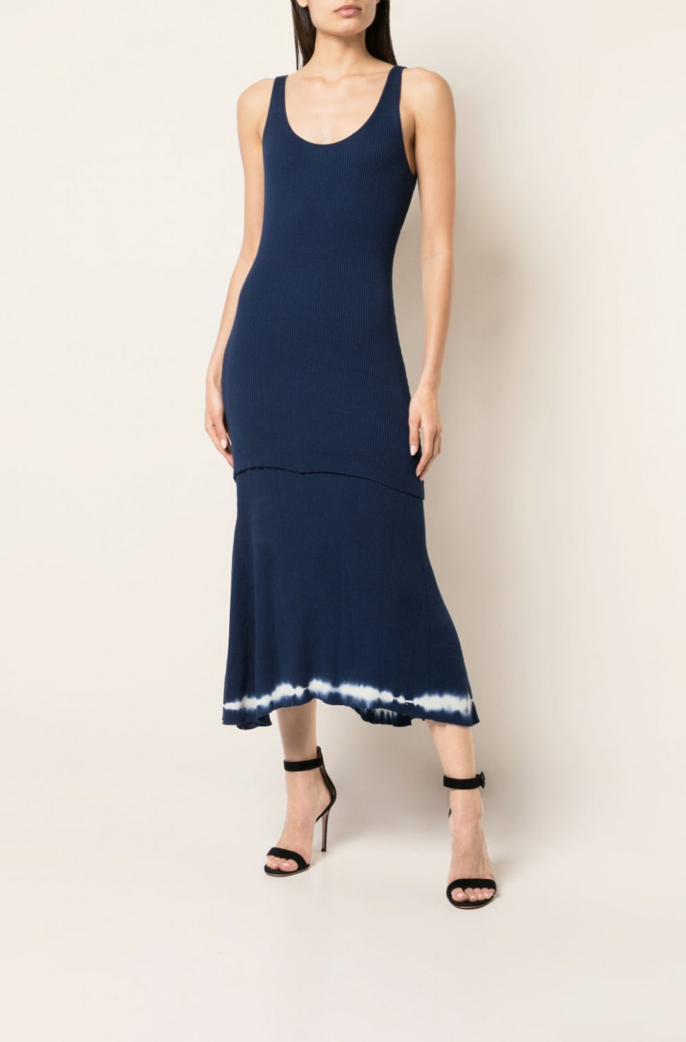 Shinobu' Strickkleid in blau  Altuzarra Official Site