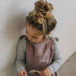Sweet Little Pose And That Hair?! #cute #stylish #microfashion Kleinkind Kleidung