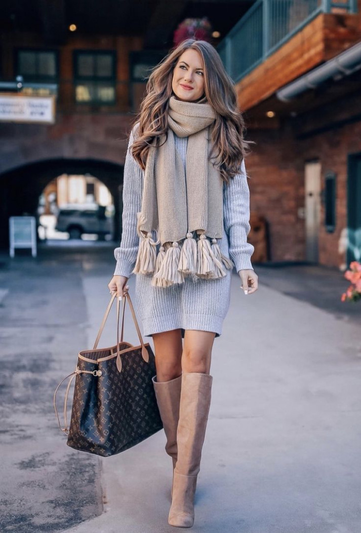 10 casual winter outfits that look expensive the chic pursuit kleider für den winter