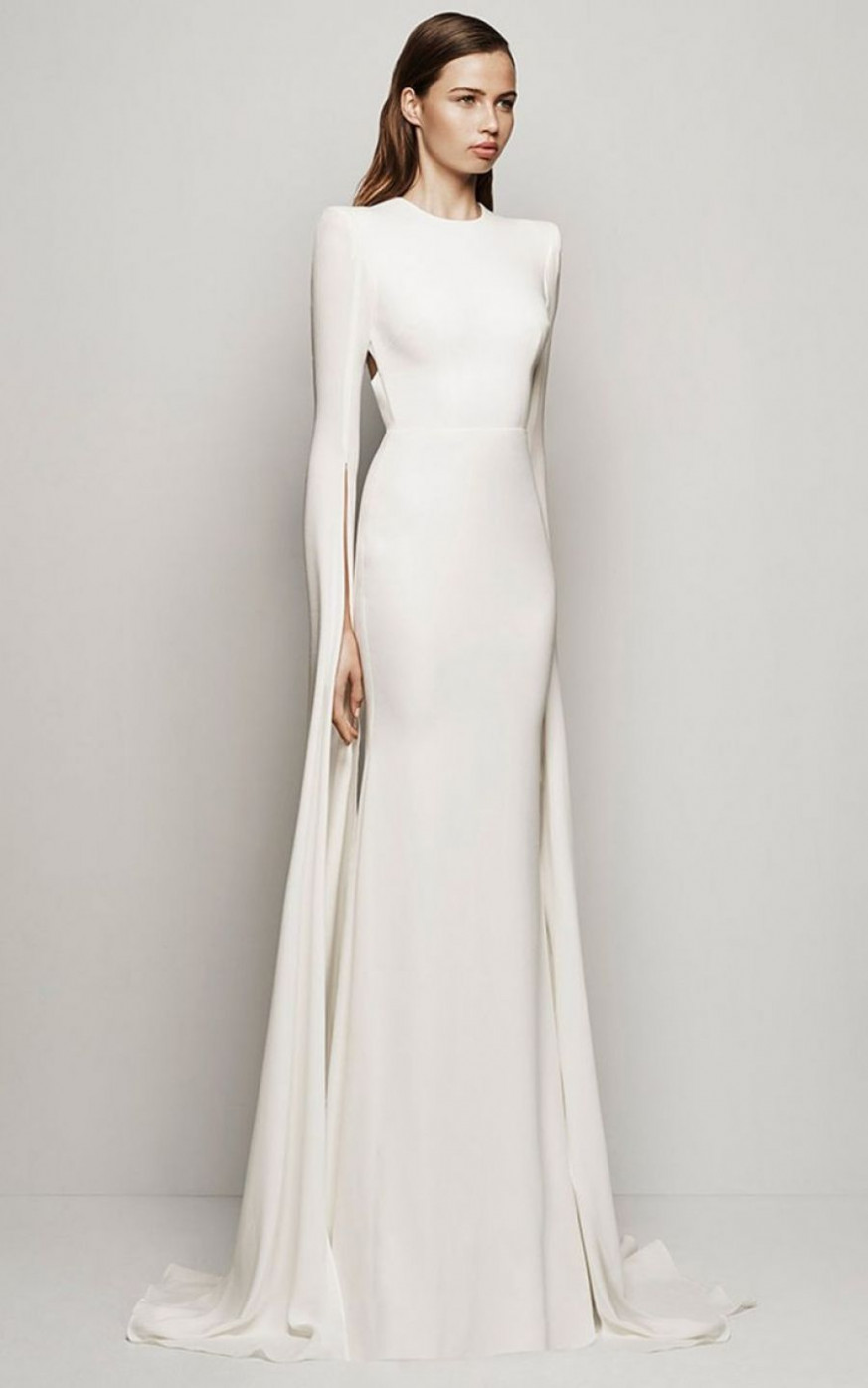 12 chic silhouettes for a classic bride / wedding style chic kleider