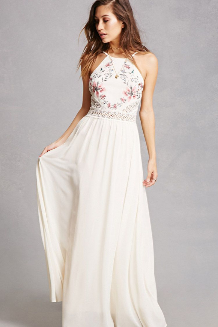 a chiffon woven maxi dress by soieblu™ featuring a lange kleider sommer