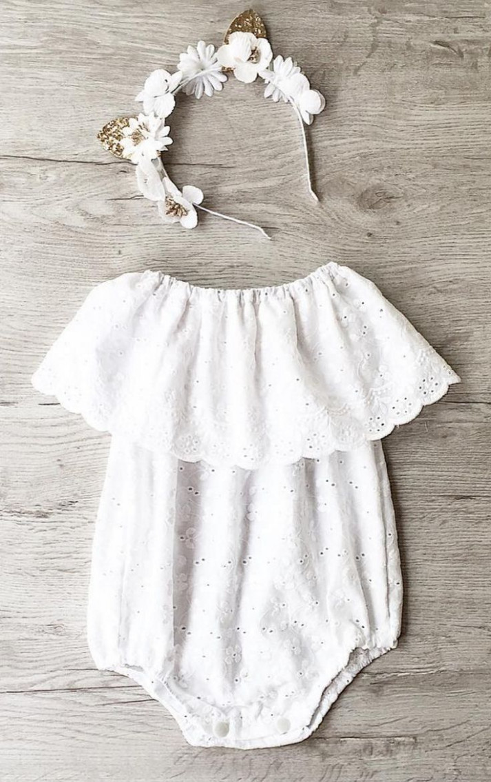 belle eyelet baby romper misslylaboutique on etsy baby baby sommerkleidung