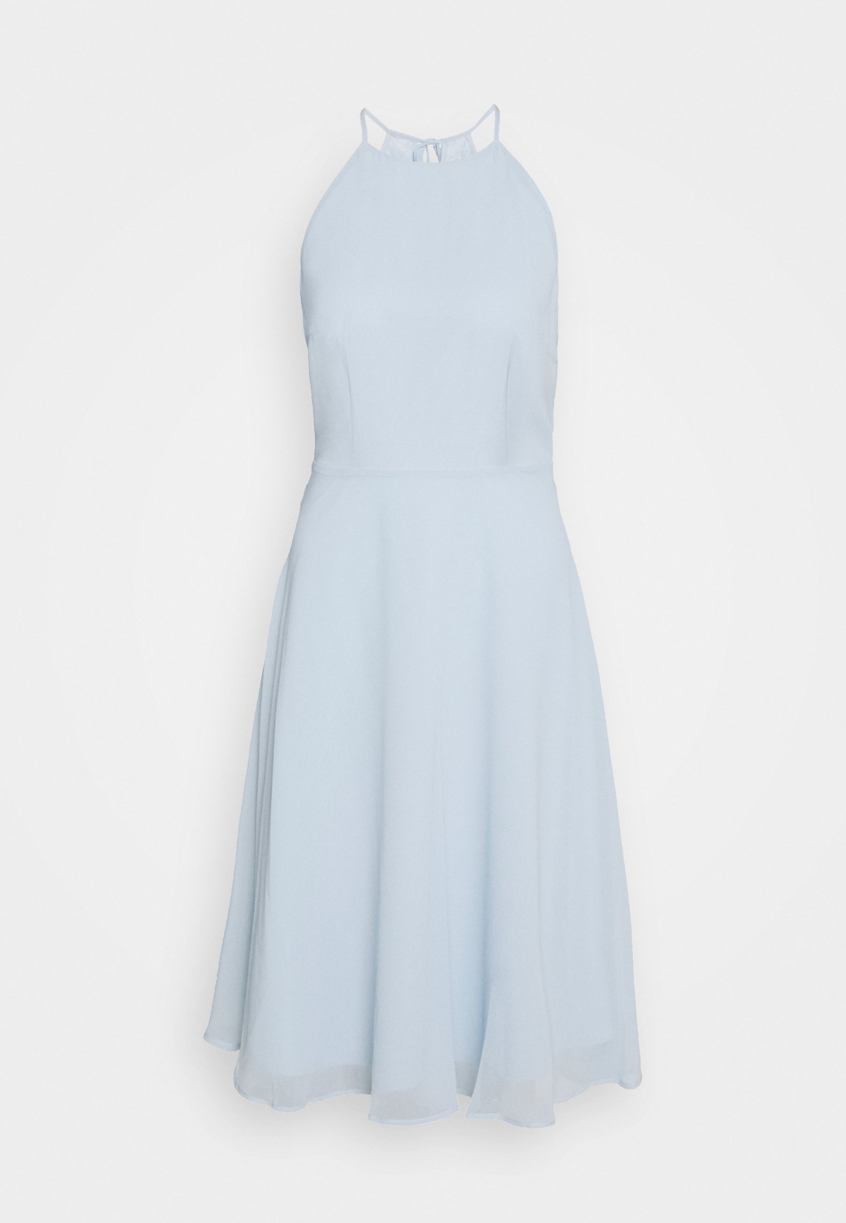 cocktailkleid/festliches kleid pastel blue cocktailkleid hellblau