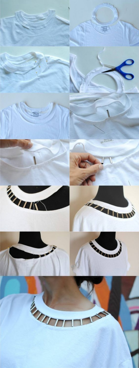 cut up t shirt ideas and styles cut kleidung