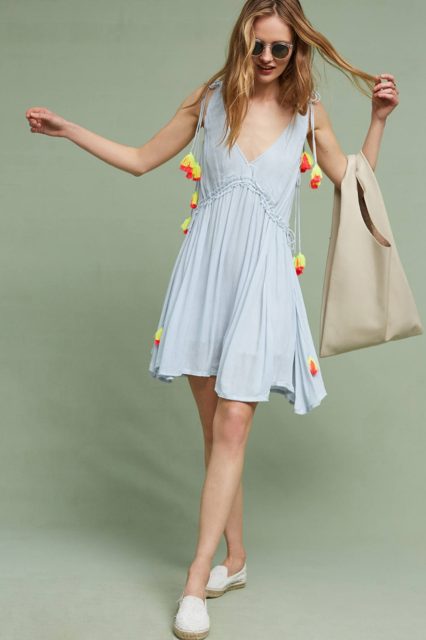 cute summer sundress have a fun day!! fashion, beachwear for sommer kleidung
