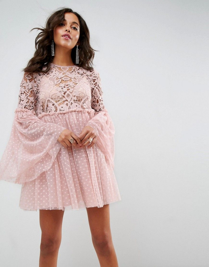 get this asos's mini dress now! click for more details | Weite Kleider