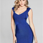 Guess By Marciano Women's Celesse Bandage Dress Cocktail Kleider Guess