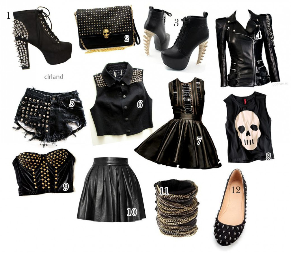 i love rock & roll coole outfits, rock kleidung, outfit rock kleidung