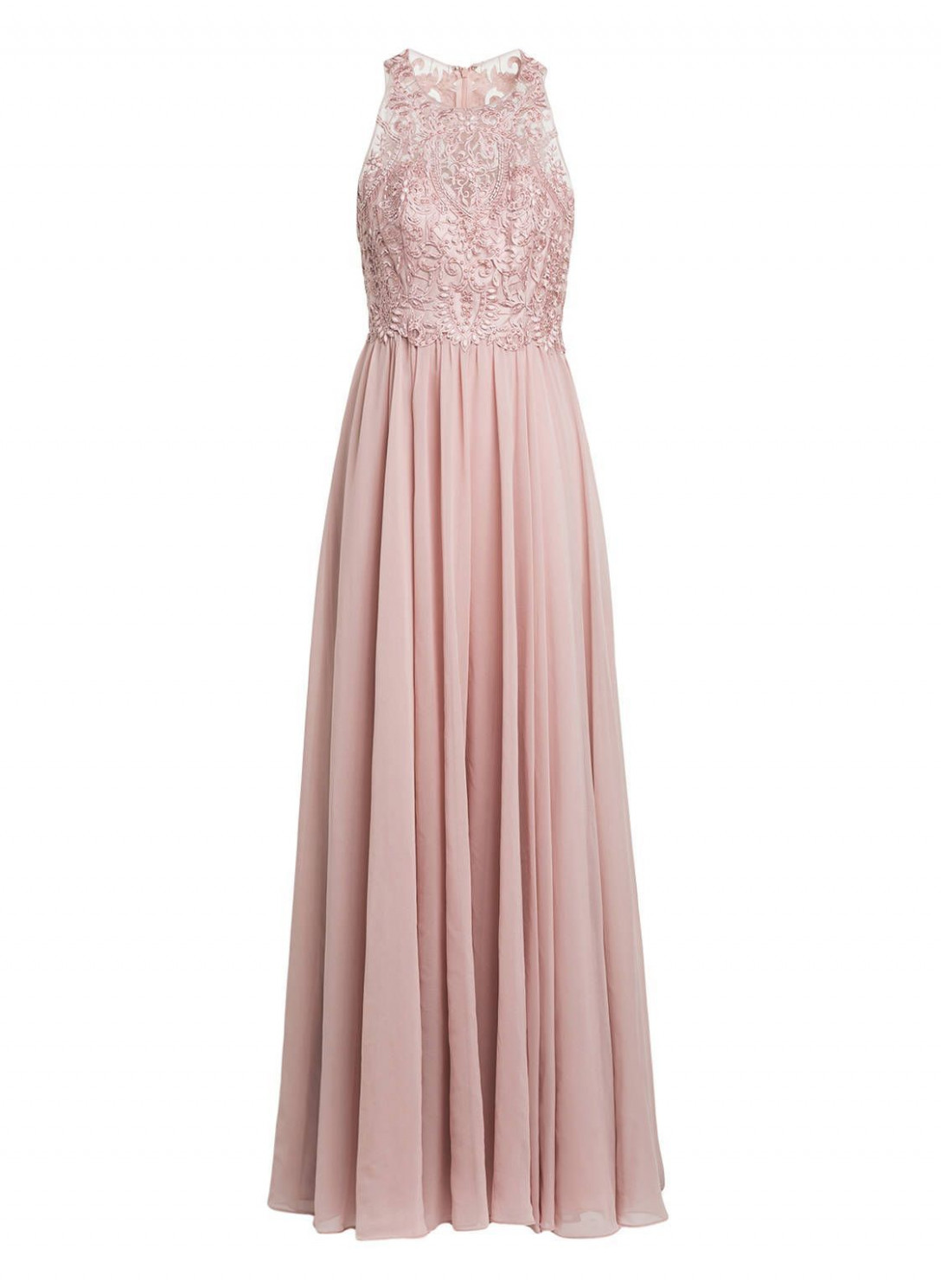 laona evening dress with embroidery altrosa brautjungfernkleider abendkleid altrosa