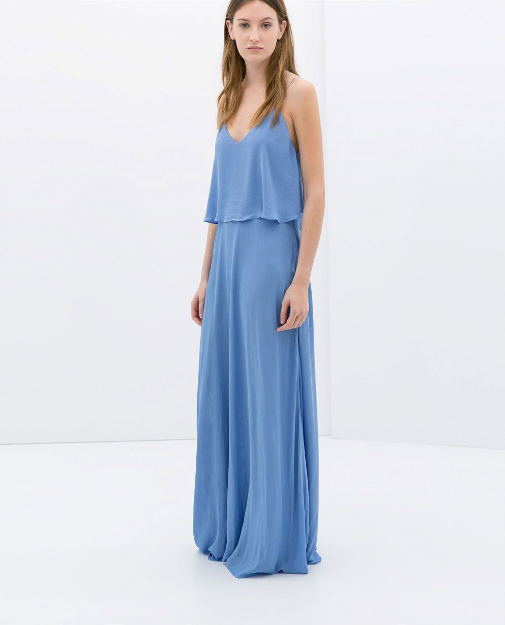long dress with low back from zara looking for dresses and i tried lange kleider damen