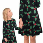 نباتي أطباق نطق Mutter Tochter Outfit Kleid Partnerlook Mutter Tochter Zara