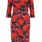 Patterned Dress Lavinia With Cotton Wet Kleider