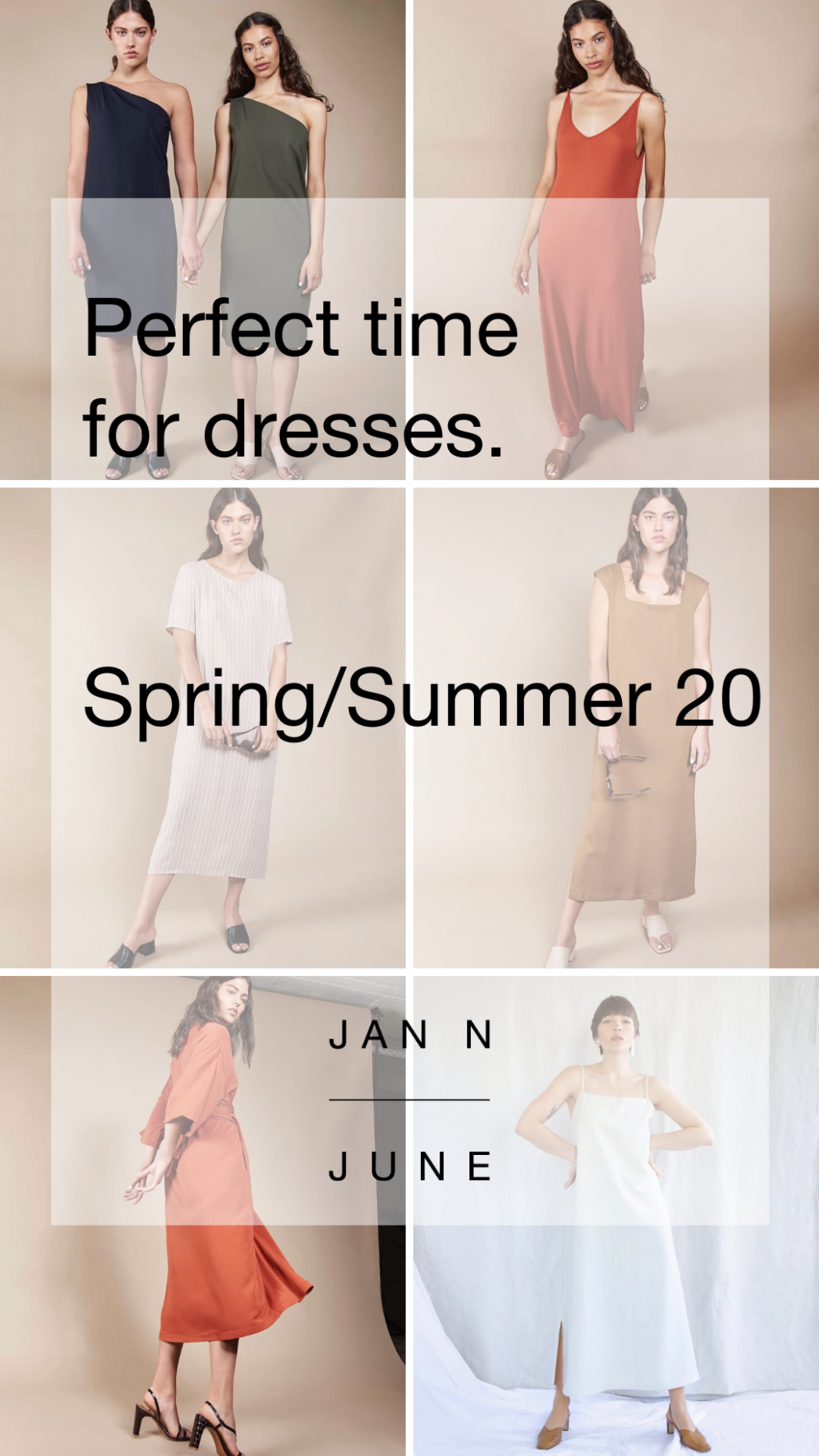 perfect time for dresses is now nachhaltige mode, kleider, mode nachhaltige kleider